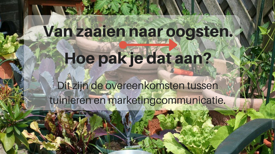 Overeenkomst tuinieren en marketingcommunicatie